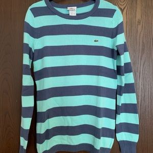 Lacoste Striped Sweater Size 40